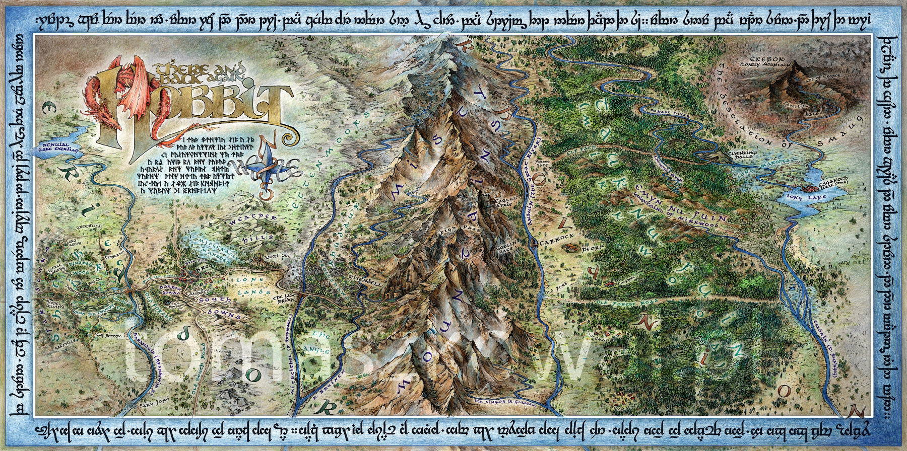 children of hurin map - photo #24